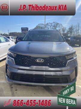 2021 Kia Sorento for sale at J P Thibodeaux Used Cars in New Iberia LA