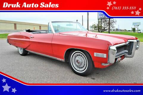 1968 Pontiac Bonneville for sale at Druk Auto Sales in Ramsey MN
