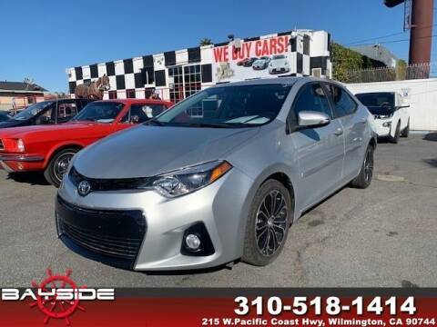 2016 Toyota Corolla for sale at BaySide Auto in Wilmington CA