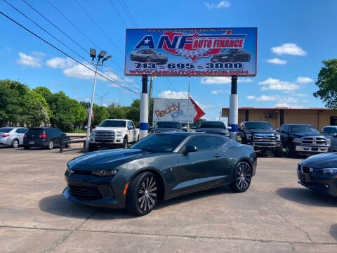 2017 Chevrolet Camaro for sale at ANF AUTO FINANCE in Houston TX