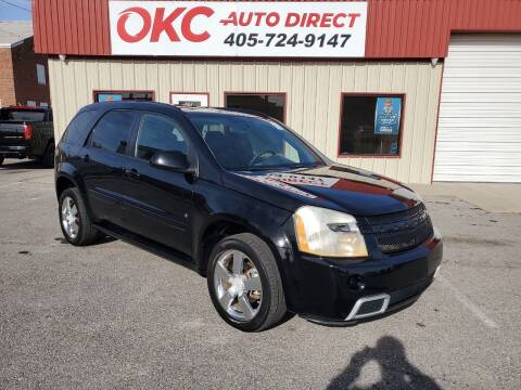 2008 Chevrolet Equinox for sale at OKC Auto Direct in Oklahoma City OK