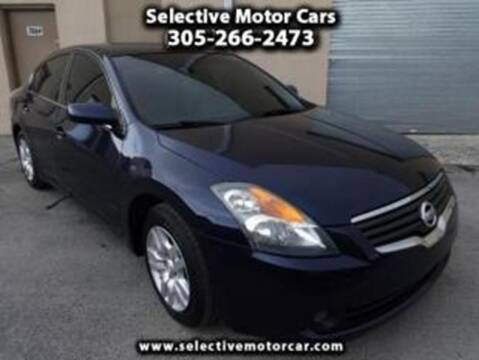2009 Nissan Altima for sale at Selective Motor Cars in Miami FL