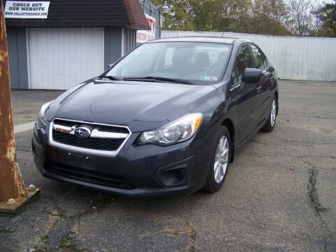 2014 Subaru Impreza for sale at Collector Car Co in Zanesville OH