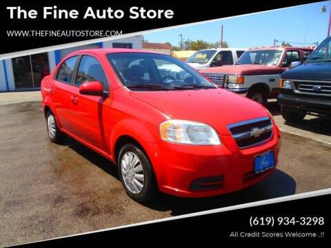 2010 Chevrolet Aveo for sale at The Fine Auto Store in Imperial Beach CA
