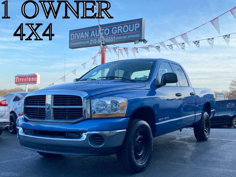 2006 Dodge Ram Pickup 1500 for sale at Divan Auto Group in Feasterville Trevose PA
