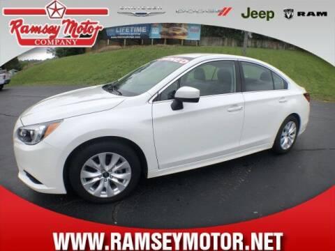 2017 Subaru Legacy for sale at RAMSEY MOTOR CO in Harrison AR