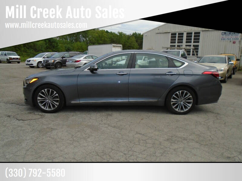 2015 Hyundai Genesis for sale at Mill Creek Auto Sales in Youngstown OH