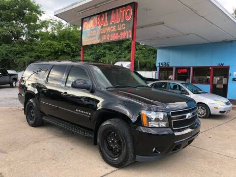 2007 Chevrolet Suburban for sale at Global Auto Sales and Service in Nashville TN