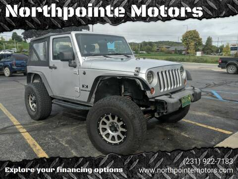 2008 Jeep Wrangler for sale at Northpointe Motors in Kalkaska MI