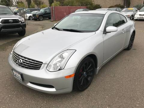 2006 Infiniti G35 for sale at C. H. Auto Sales in Citrus Heights CA