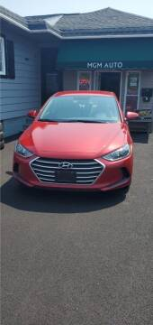 2018 Hyundai Elantra for sale at MGM Auto Sales in Cortland NY