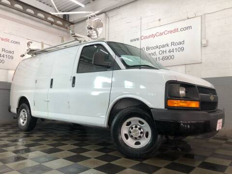 2011 Chevrolet Express Cargo for sale at County Car Credit in Cleveland OH
