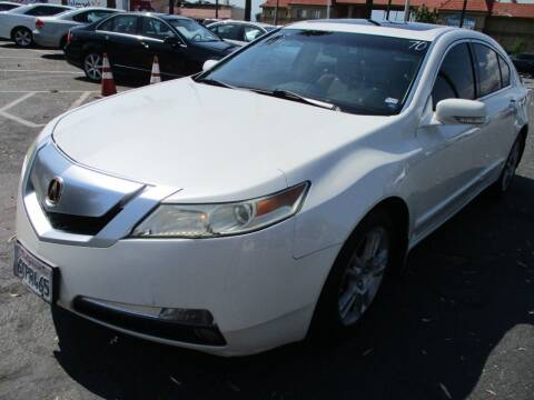 2009 Acura TL for sale at F & A Car Sales Inc in Ontario CA