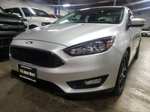 2018 Ford Focus for sale at 916 Auto Mart ONLY $399 DOWN!!!* in Sacramento CA