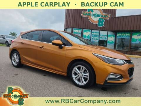 2017 Chevrolet Cruze for sale at R & B Car Co in Warsaw IN