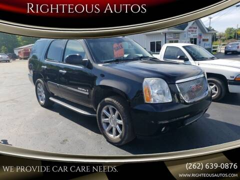 2009 GMC Yukon for sale at Righteous Autos in Racine WI