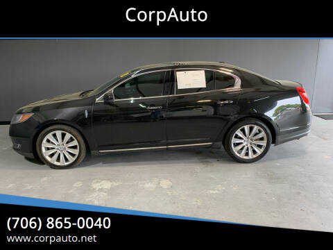 2013 Lincoln MKS for sale at CorpAuto in Cleveland GA