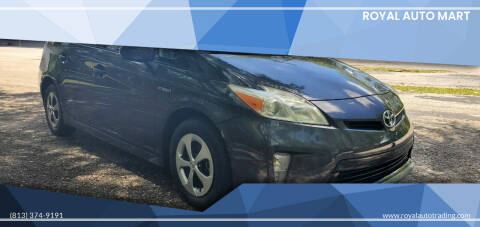 2012 Toyota Prius for sale at Royal Auto Mart in Tampa FL