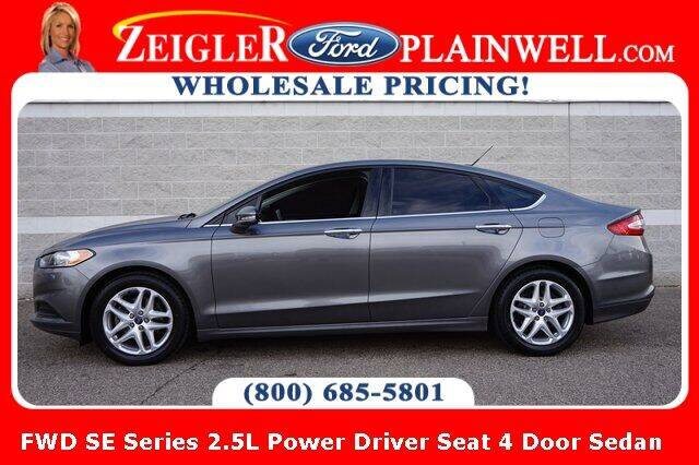 2013 Ford Fusion for sale at Zeigler Ford of Plainwell- michael davis in Plainwell MI