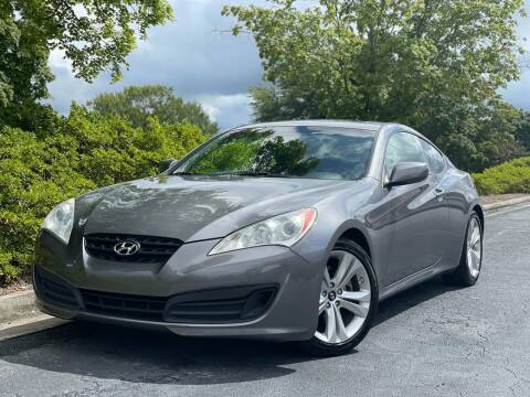 2010 Hyundai Genesis Coupe for sale at William D Auto Sales in Norcross GA