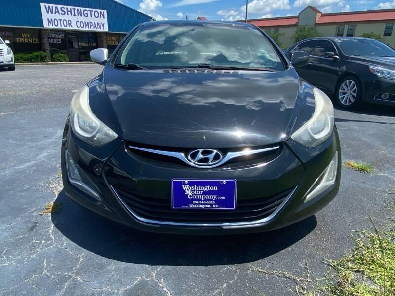 2014 Hyundai Elantra for sale at Greenville Motor Company in Greenville NC