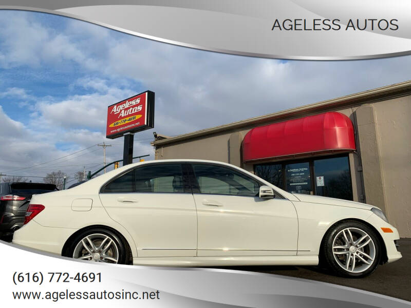 2012 Mercedes-Benz C-Class for sale at Ageless Autos in Zeeland MI