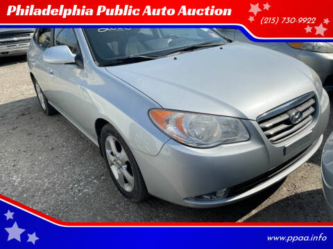 2008 Hyundai Elantra for sale at Philadelphia Public Auto Auction in Philadelphia PA