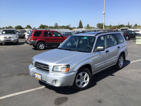 2004 Subaru Forester for sale at My Three Sons Auto Sales in Sacramento CA