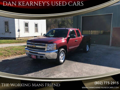 2013 Chevrolet Silverado 1500 for sale at DAN KEARNEY'S USED CARS in Center Rutland VT