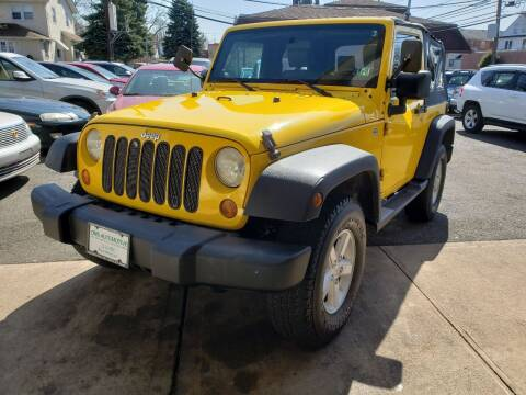 2008 Jeep Wrangler for sale at DNS Automotive Inc. in Bergenfield NJ