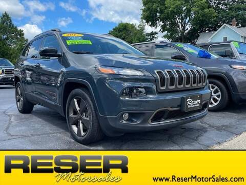 2017 Jeep Cherokee for sale at Reser Motorsales in Urbana OH