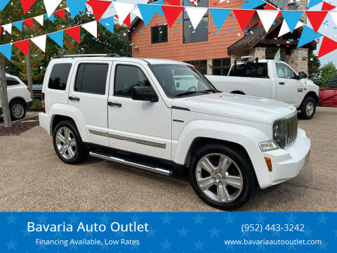 2012 Jeep Liberty for sale at Bavaria Auto Outlet in Victoria MN