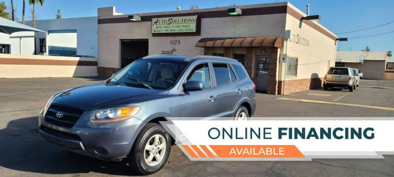 2008 Hyundai Santa Fe for sale at Auto Solutions in Mesa AZ