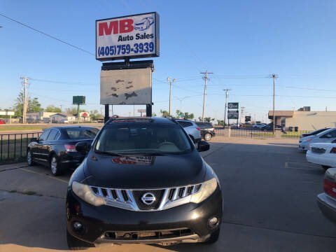 2009 Nissan Murano for sale at MB Auto Sales in Oklahoma City OK