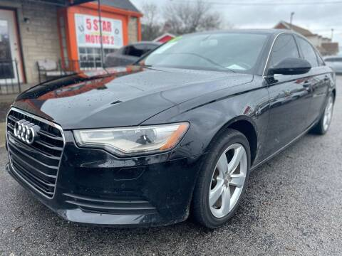2012 Audi A6 for sale at 5 STAR MOTORS 1 & 2 - 5 STAR MOTORS in Louisville KY