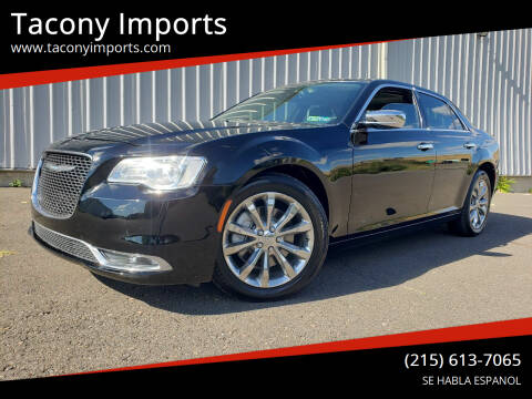 2015 Chrysler 300 for sale at Tacony Imports in Philadelphia PA