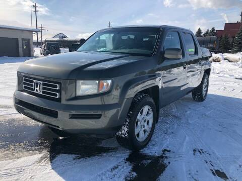 2006 Honda Ridgeline for sale at Mike's Budget Auto Sales in Cadillac MI