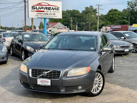 2008 Volvo S80 for sale at Supreme Auto Sales in Chesapeake VA