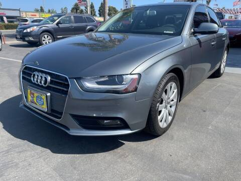 2013 Audi A4 for sale at CARSTER in Huntington Beach CA