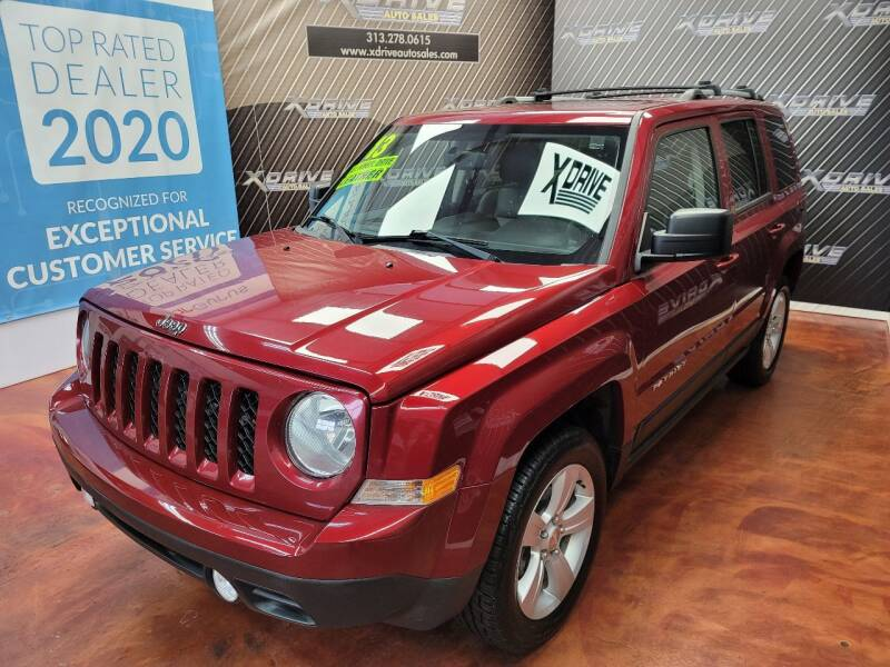 2013 Jeep Patriot for sale at X Drive Auto Sales Inc. in Dearborn Heights MI