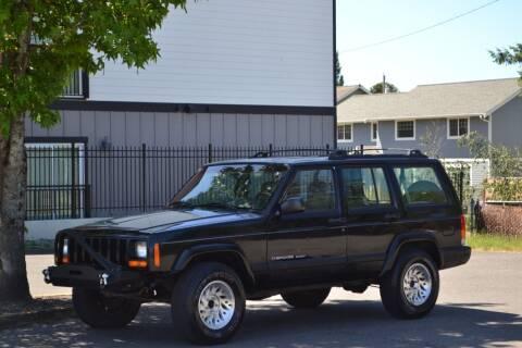 1999 Jeep Cherokee for sale at Skyline Motors Auto Sales in Tacoma WA