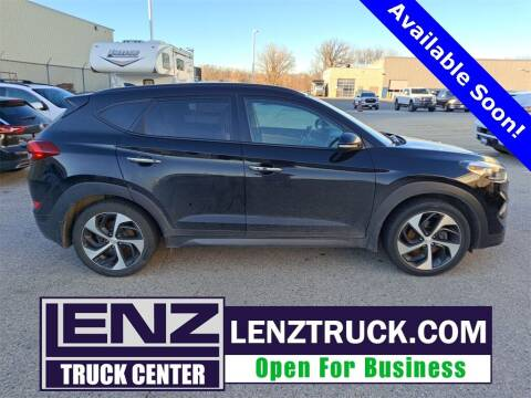 2016 Hyundai Tucson for sale at LENZ TRUCK CENTER in Fond Du Lac WI