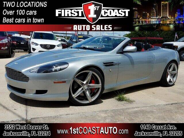 2006 Aston Martin DB9 for sale at 1st Coast Auto -Cassat Avenue in Jacksonville FL