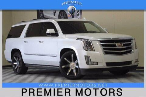 2016 Cadillac Escalade ESV for sale at Premier Motors in Hayward CA