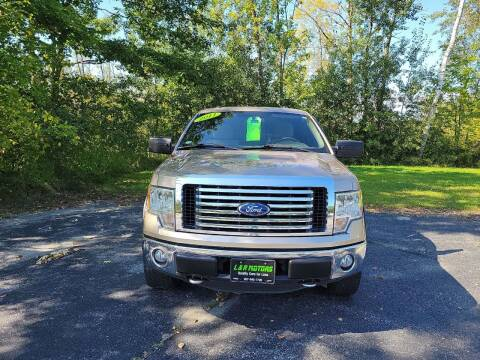 2011 Ford F-150 for sale at L & R Motors in Greene ME