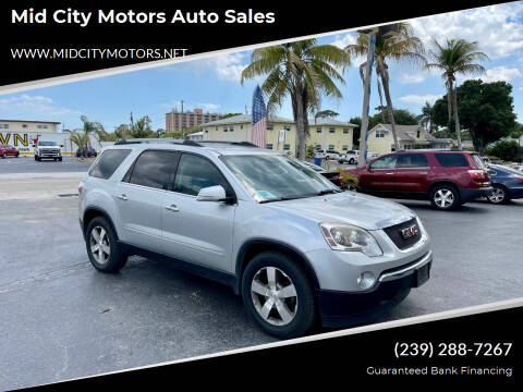 2011 GMC Acadia for sale at Mid City Motors Auto Sales in Fort Myers FL