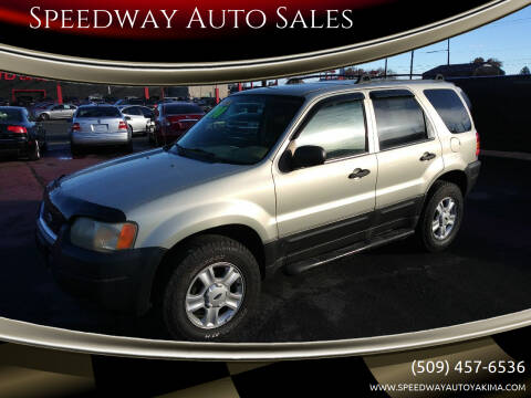 2003 Ford Escape for sale at Speedway Auto Sales in Yakima WA