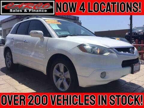 2009 Acura RDX for sale at CARCO SALES & FINANCE in Chula Vista CA