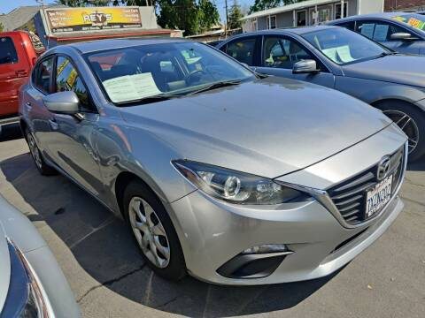 2015 Mazda MAZDA3 for sale at Rey's Auto Sales in Stockton CA