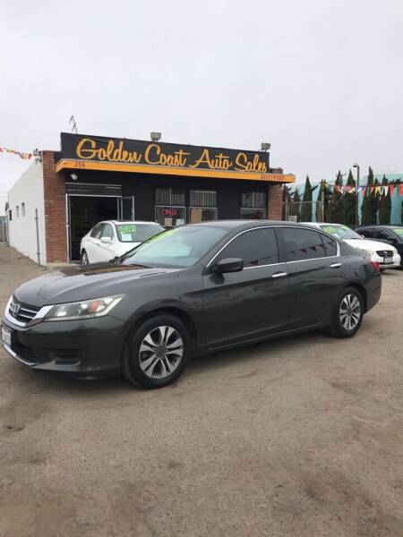 2013 Honda Accord for sale at Golden Coast Auto Sales in Guadalupe CA